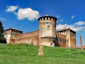 Torre cilindrica della Rocca sforzesca